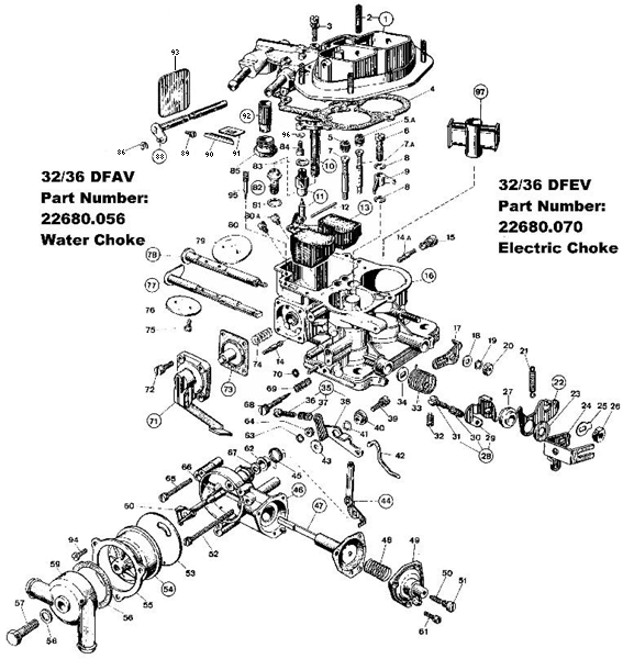 edelbrock 1406 parts diagram